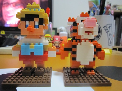ピノキオとティガー