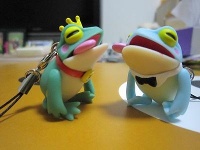 カエル×2