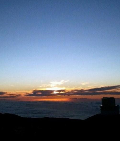 マウナケアの夕日2011-08-16 13.48.28