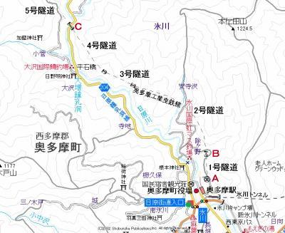 奥多摩工業曳索鉄道線地図1