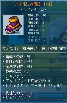 アイゼン紫
