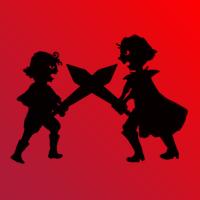 アイコンネット対戦勝利数アイコン影絵