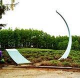 ラベンダー観光の碑