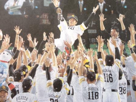 2011日本シリーズ優勝