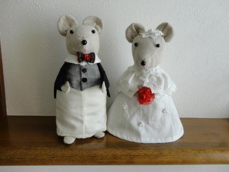 ネズミの夫婦