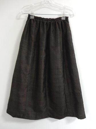 大島紬8枚接ぎスカート