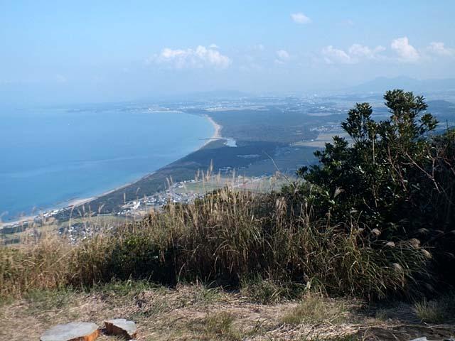 湯川山パラグライダーフライト基地(59430 byte)