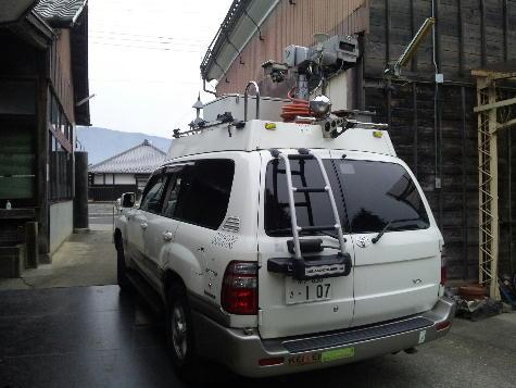 NHKロケ車