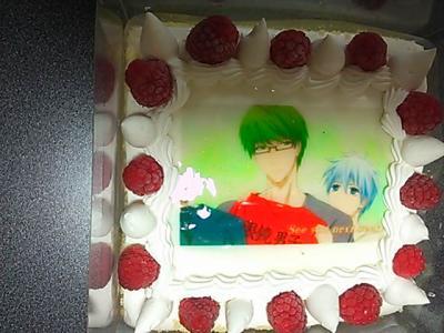 緑間・黒子ケーキ