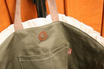 ニットのバッグ1-4