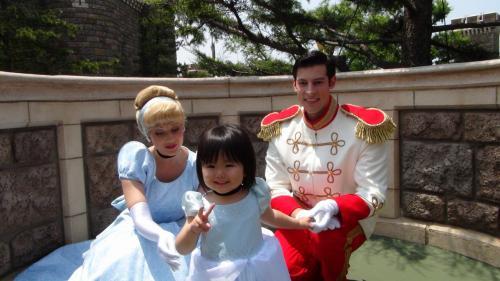 シンデレラと ディズニーランド コスプレ Cinderella