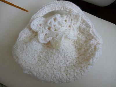 手編みのかばん