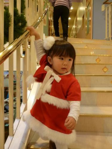 クリスマス サンタ コスプレ 衣装 手作り ボレロ着用