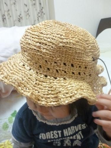 無料 手作り 麦わら帽子 模様