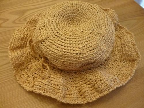無料 手作り 麦わら帽子 紐の飾り