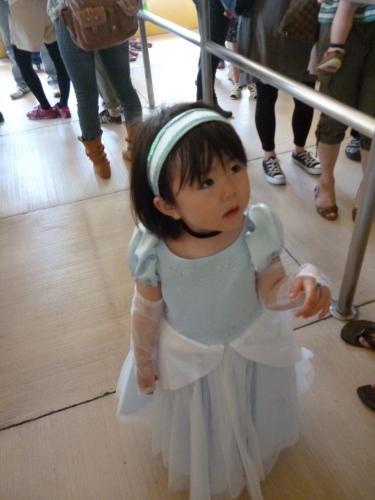 カチューシャ シンデレラ コスプレ Cinderella costume 手作り handmade