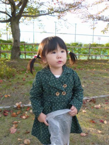 秋 子供 コート 手作り 100cm 90cm