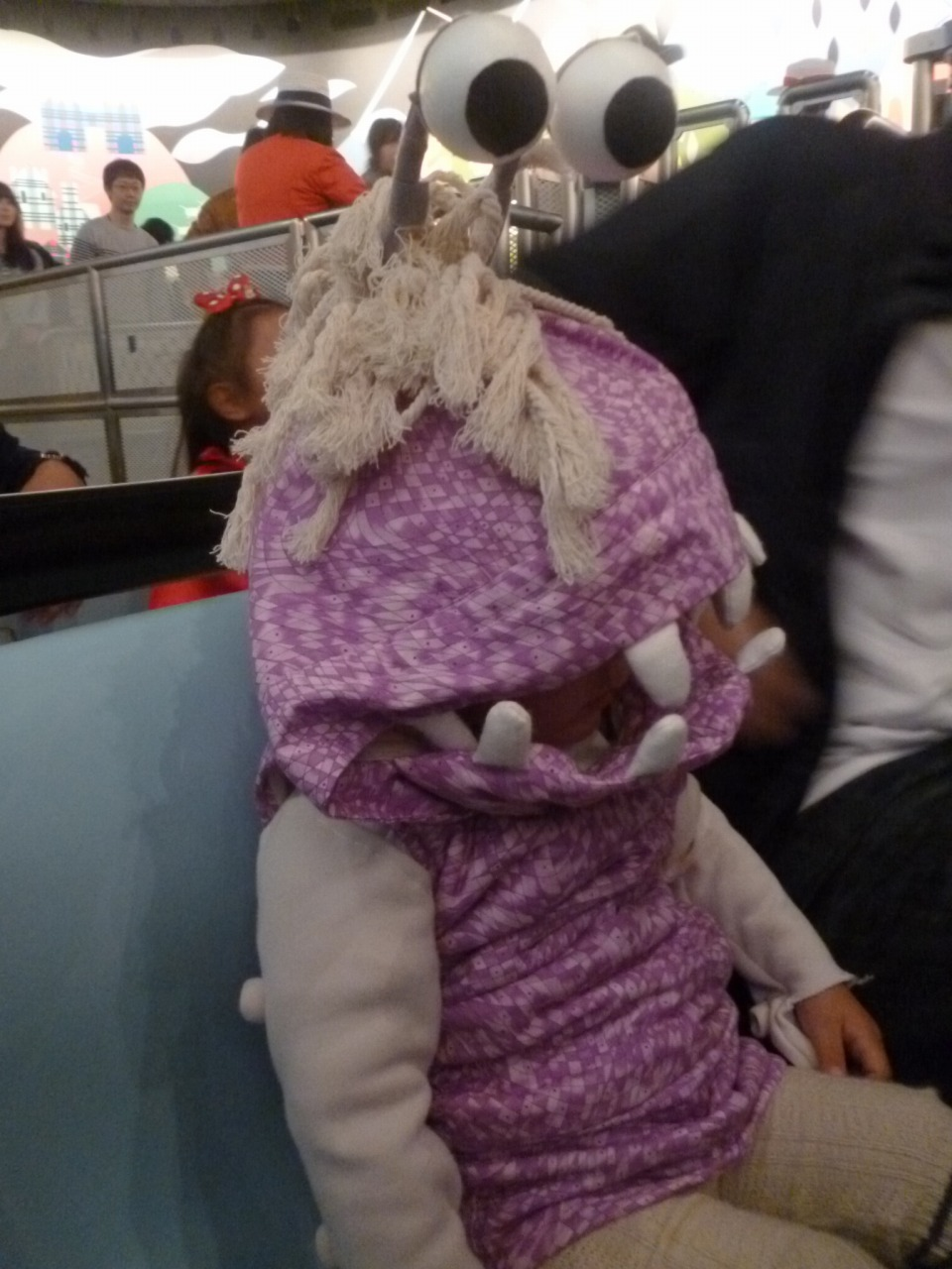 モンスターズインク ブー コスプレ4 monsters inc boo costume handmade ハンドメイド 手作り
