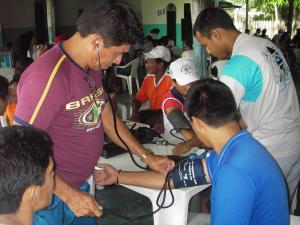 CHW対象血圧測定トレーニング