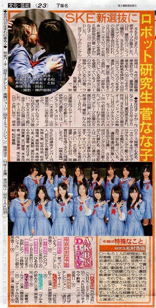松村香織・『日刊スポーツ』