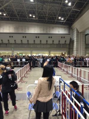 平嶋夏海・2012/2/5(最後の握手会)