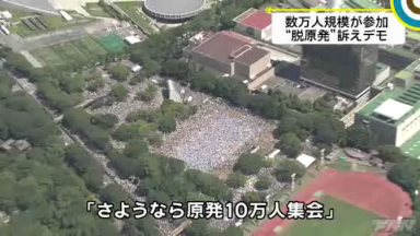 2012/7/16、「さようなら原発10万人集会」(2)