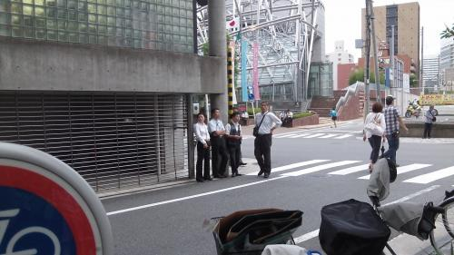 関西電力本店前・2012/8/17(4)