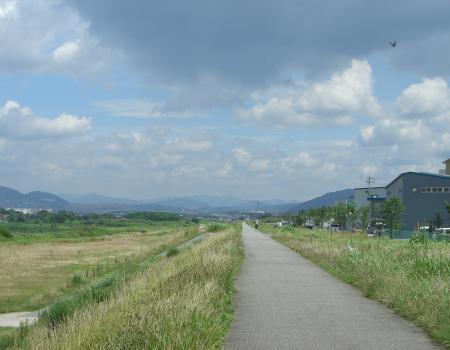 6-28 猪名川自転車道