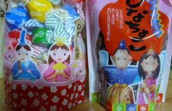 20110303おひなさま(おかし)