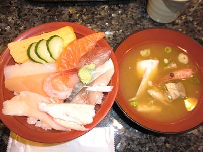 海鮮丼 12時