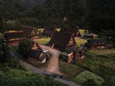 五箇山の合掌村