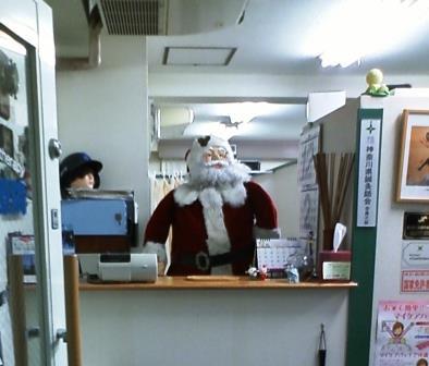 クリスマスのスタッフ