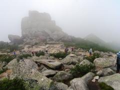 金峰山頂上へ到着