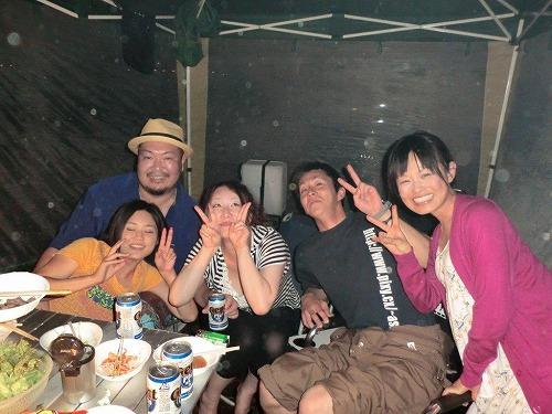 キャンプ 夜の宴