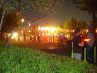 にぎわう祭り