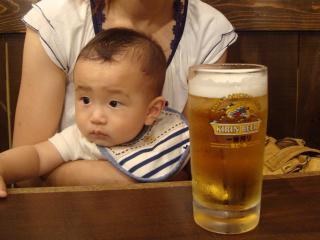 ビールが美味しい♪