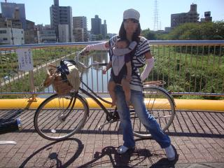 サイクリング風