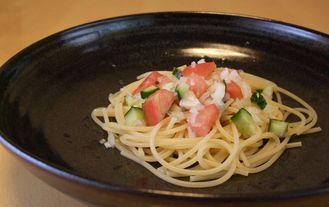 とまとのスパゲティ_20100808 4