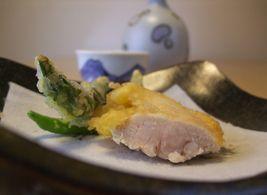 ささみと京野菜の天ぷら_20101011 7