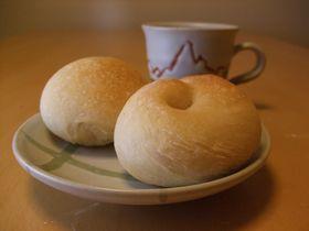 初めてのパン朝食_20101109