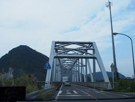 橋をわたりま~す