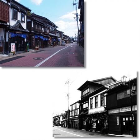 平戸の町並み