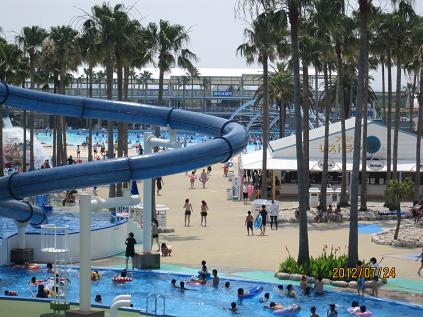長島ジャンボ海水プール