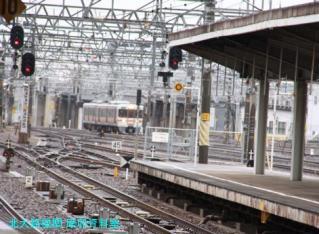 名古屋駅雨天とワイドビュー 3