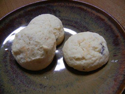 ピカソル・塩チョコ on飴釉皿