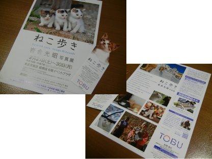 東武・写真展・カタログと入場半券