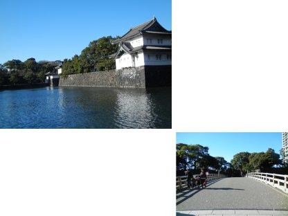 和田倉門と巽櫓・桔梗門