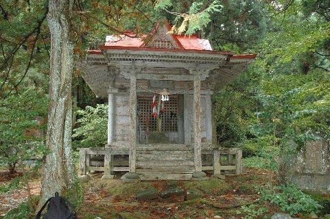 金峯山神社/登山口
