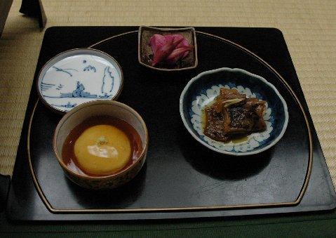 カラゲ・豆腐あんかけ
