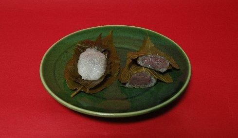 4嵐山桜餅